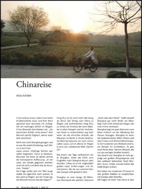 China Reise Viola Schäfer